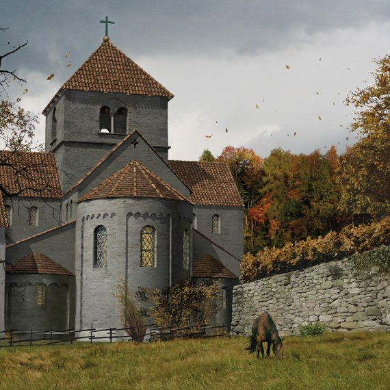 Kloster St. Petersinsel Kirche