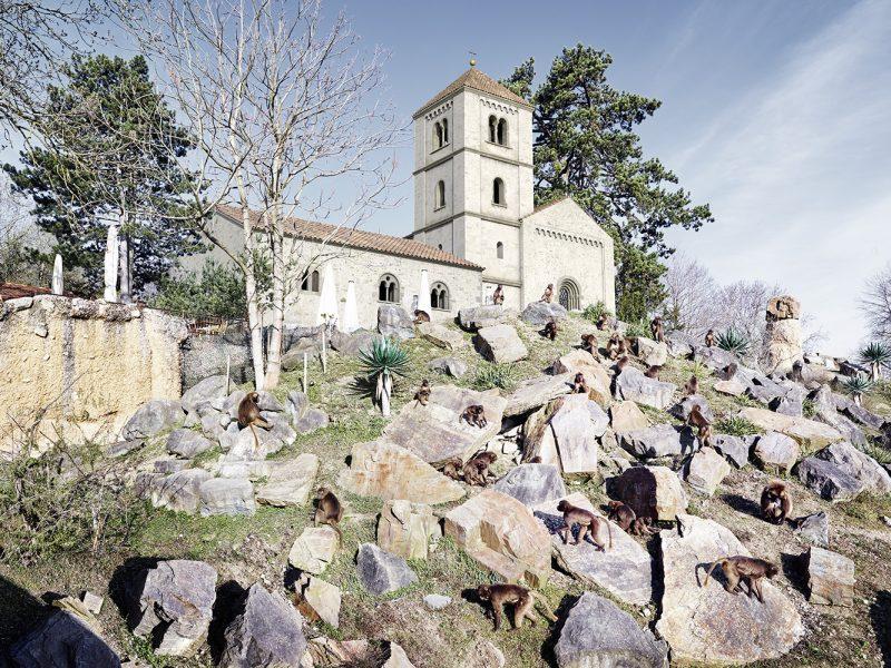 Kippbild - Kloster St. Martin