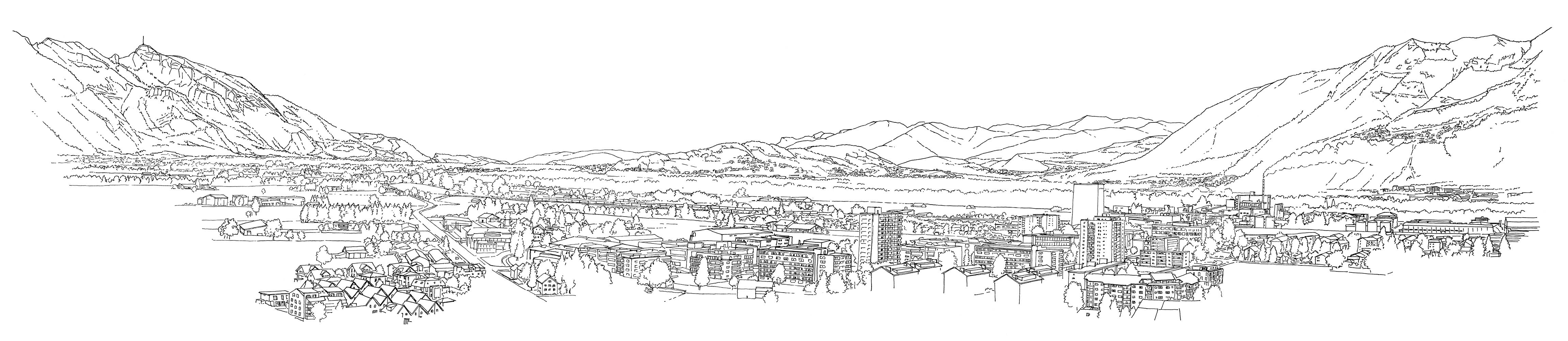Alpenzeiger Panorama Osten