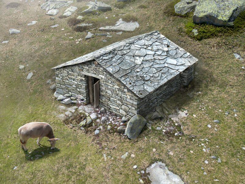 Alphütte Alte Stäfel Aussenansicht