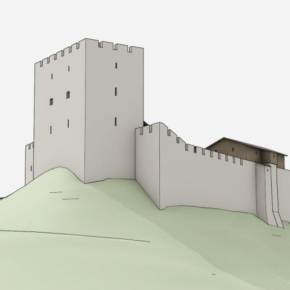 Burg Altenberg Ostansicht