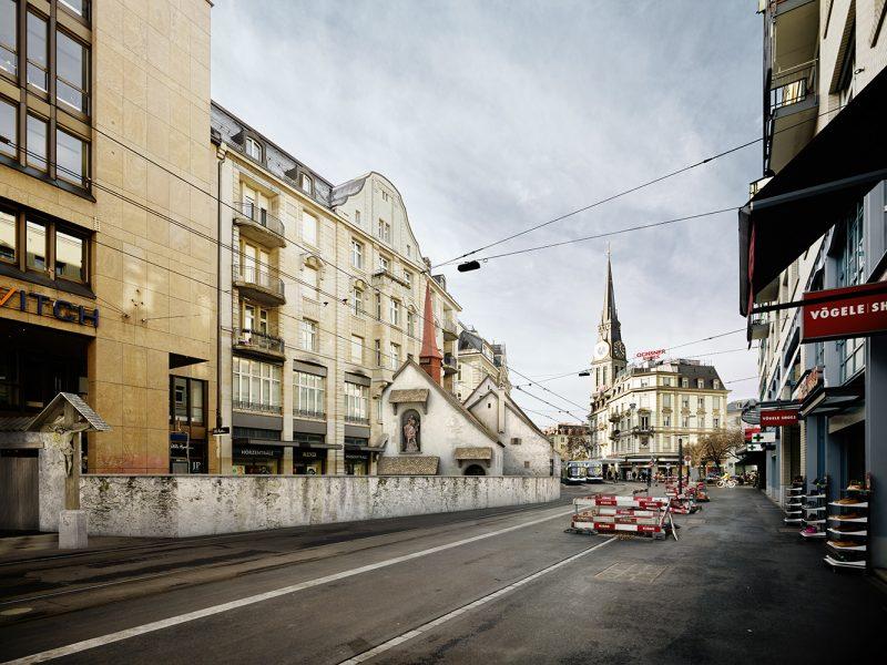 Kippbild - St. Jakob