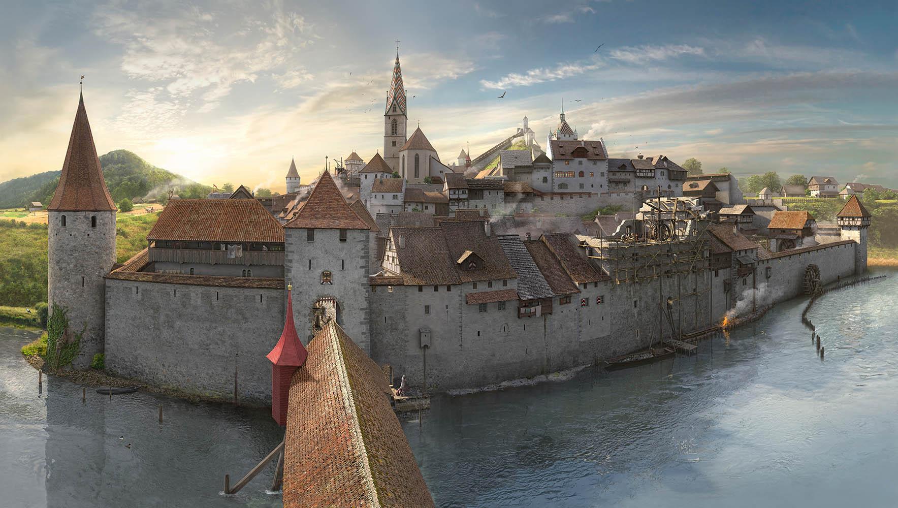 Baden um 1499