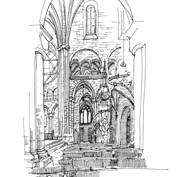Skizze Münster Basel, 2004
