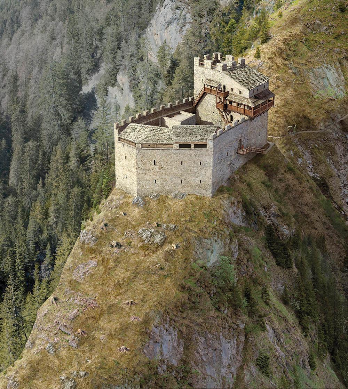 Burg Belfort Phase 1 nach Högl