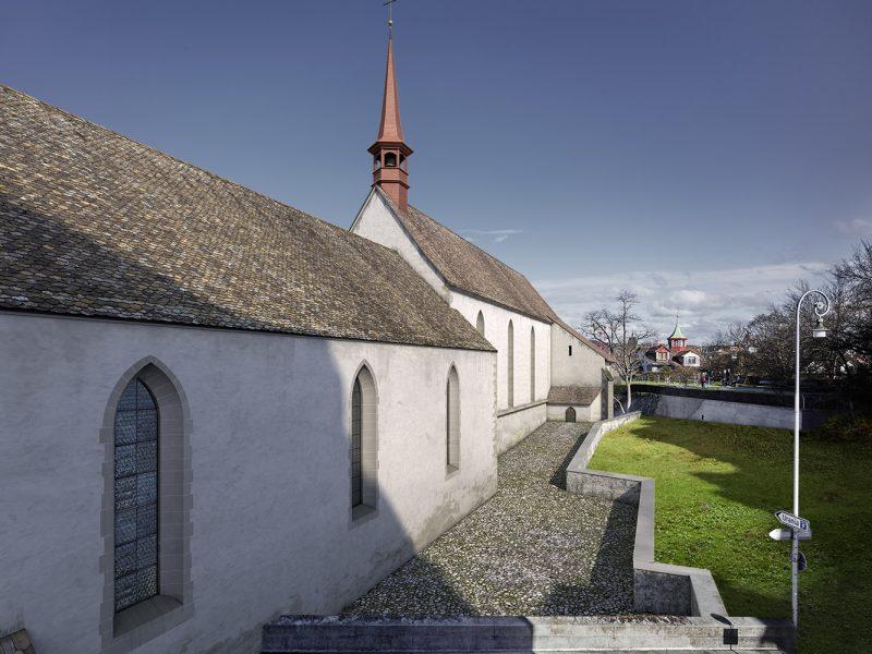 Kippbild - Kloster Oetenbach