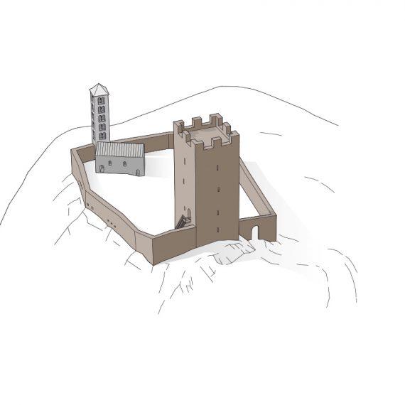 Castello Mesocco Phase 1