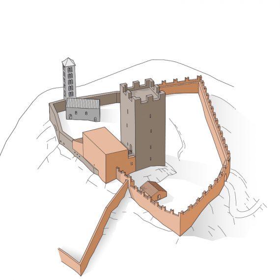 Castello Mesocco Phase 2