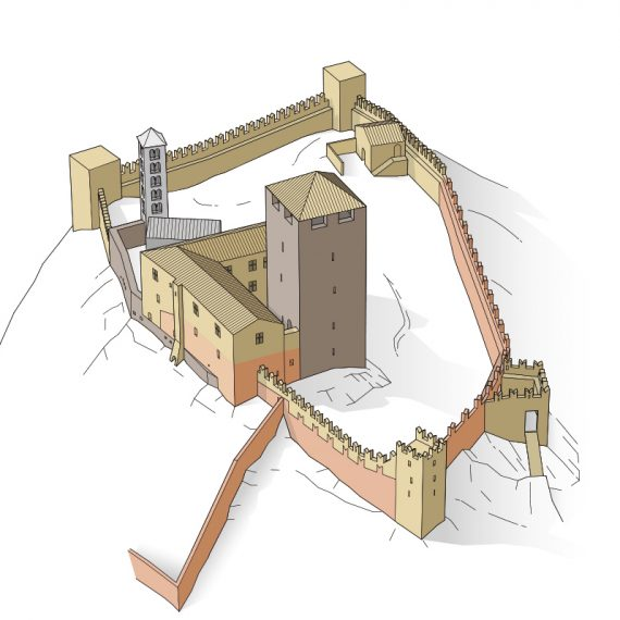 Castello Mesocco Phase 3