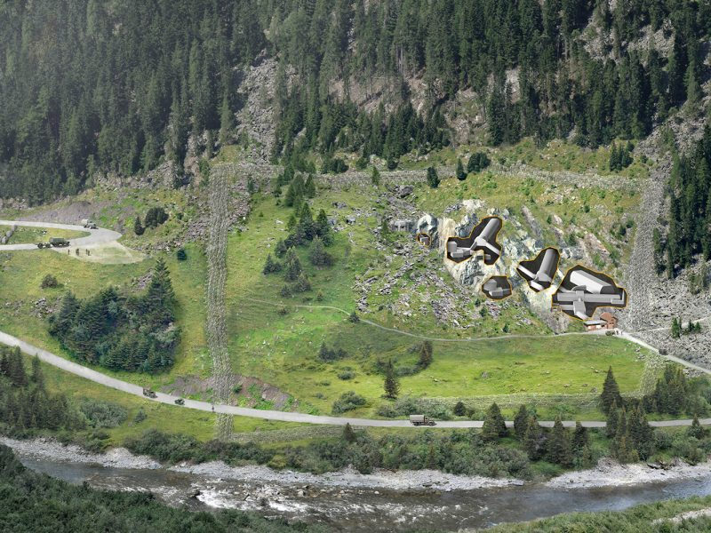 Festung Crestawald Situation