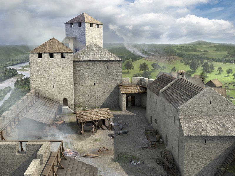 Rekonstruktion Schloss Habsburg