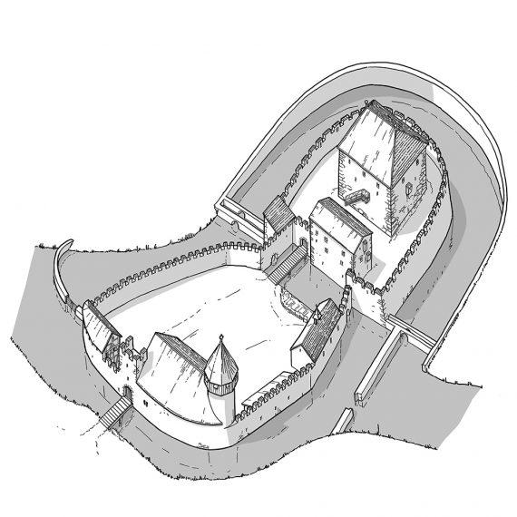 Rekonstruktion Schloss Hallwyl II