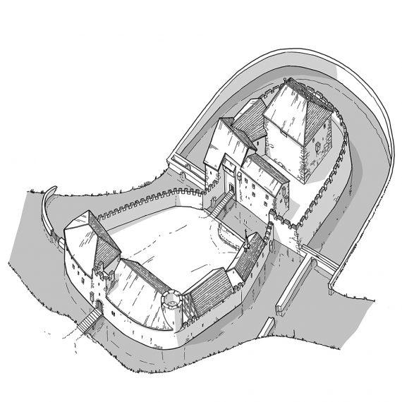 Rekonstruktion Schloss Hallwyl III