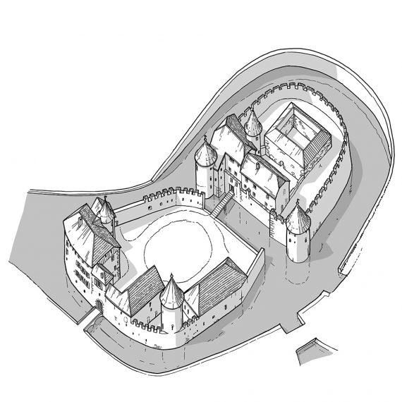 Rekonstruktion Schloss Hallwyl V