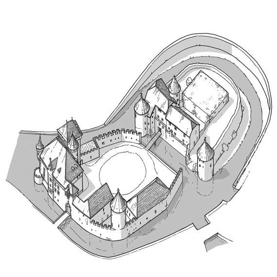 Rekonstruktion Schloss Hallwyl VI