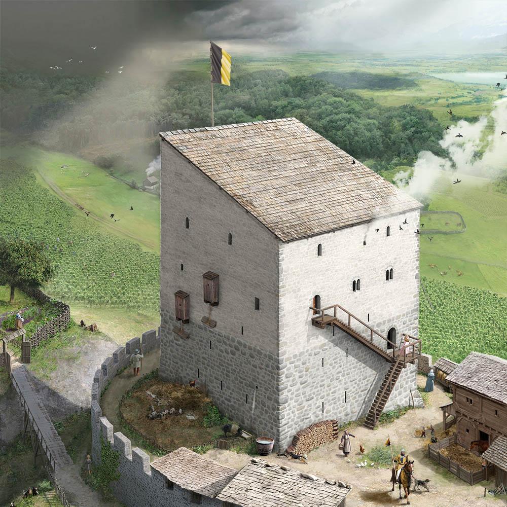 Schloss Heidegg Lebensbild