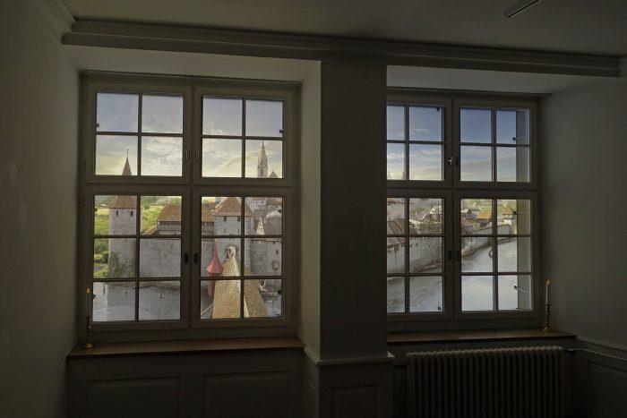Bild als Blick aus dem Fenster