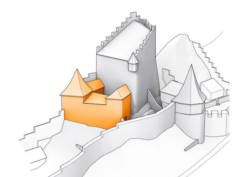 Ruine Homburg, Ansicht 03