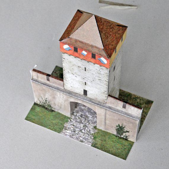 Modellbogen Schirmerturm