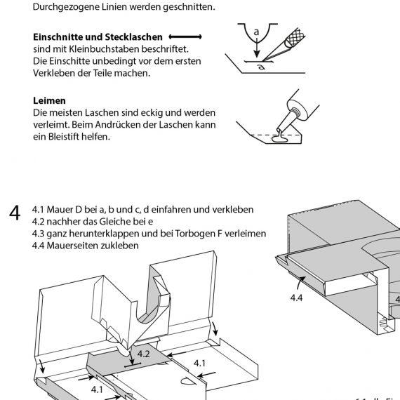 Anleitung Schirmerturm