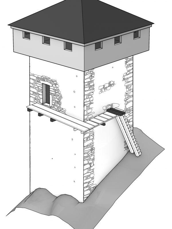 Turm Morgarten Obergaden