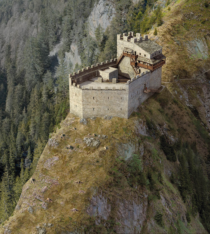 Burg Belfort Phase 1