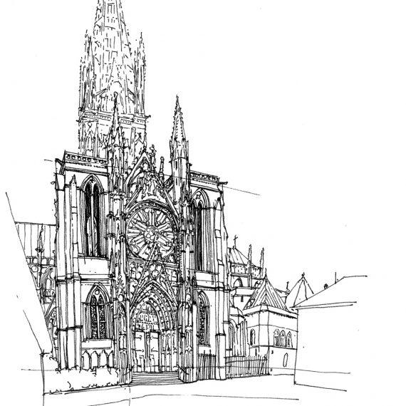 Kathedrale Rouen, 2004