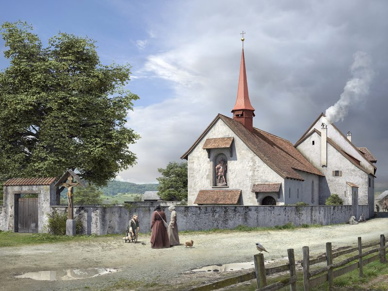 St. Jakob Kapelle mit Siechenhaus