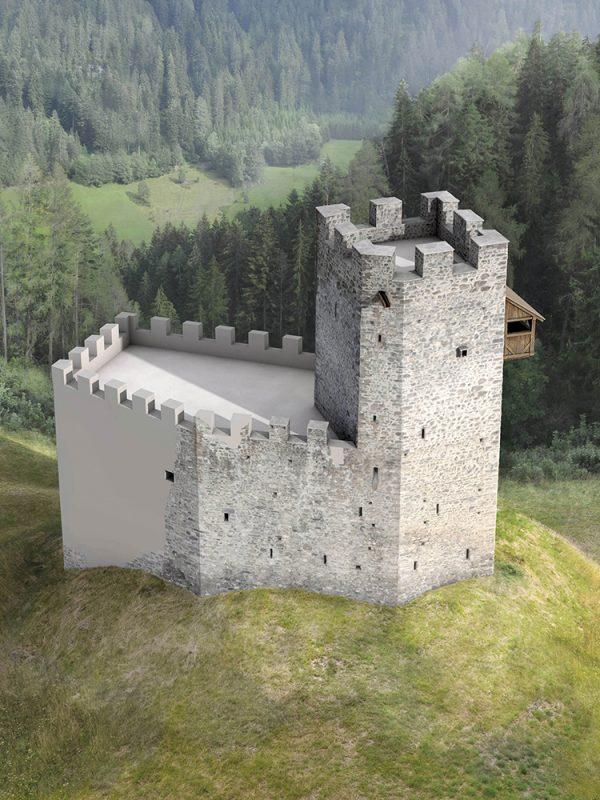 Burg Strassberg Phase 1
