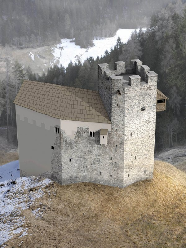 Burg Strassberg Phase 2