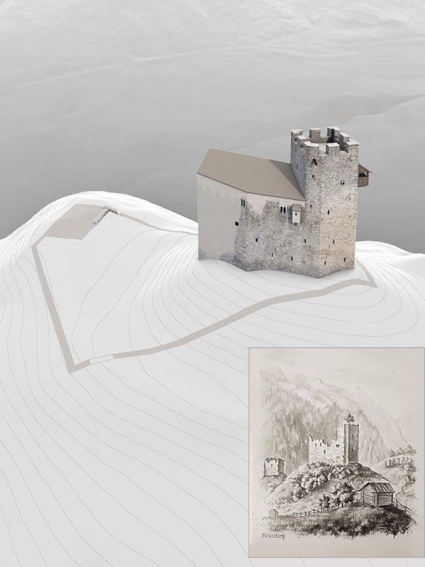 Burg Strassberg Übersicht