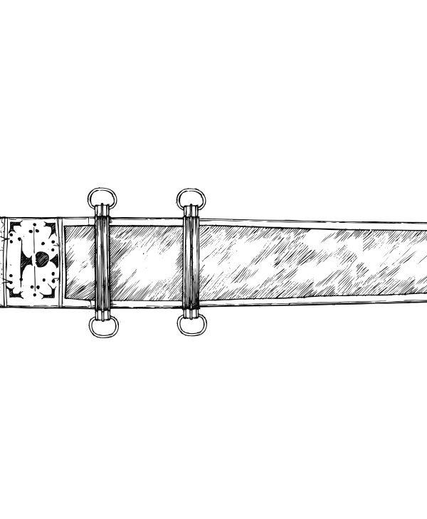 Zeichnung Gladius
