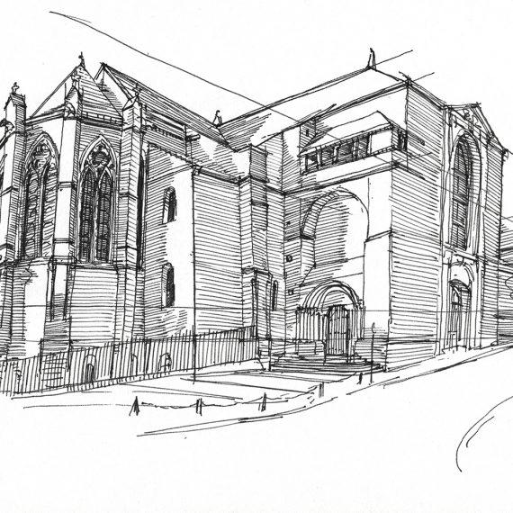 Kirche Verdun, 2004