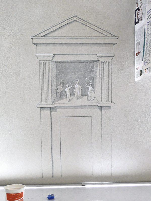 Wandgemälde Historisches Museum Basel