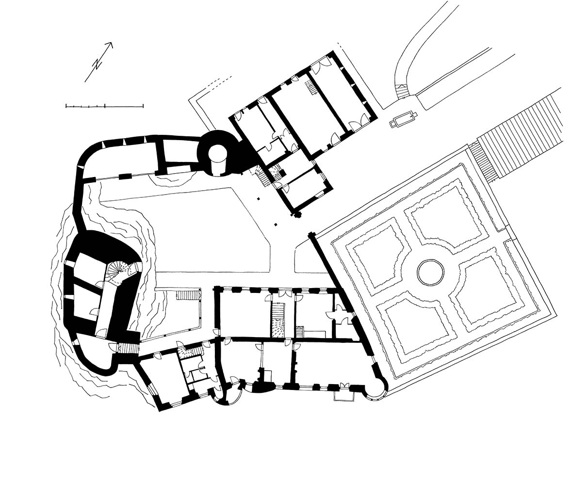 Schloss Wildenstein Grundriss