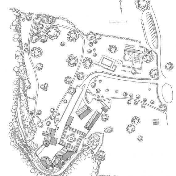 Schloss Wildenstein Übersichtsplan