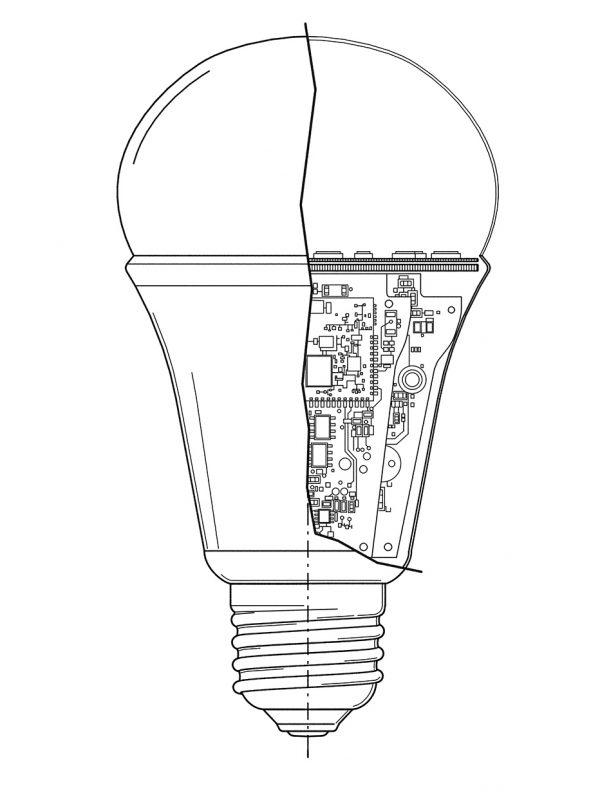 1/2018 LED Birne Ilumi