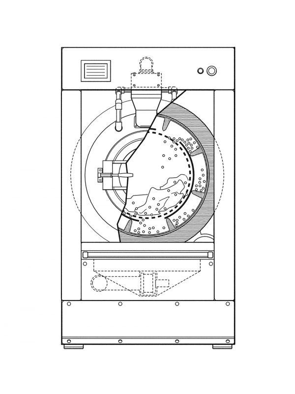 6/2018 Waschmaschine ohne Wasser