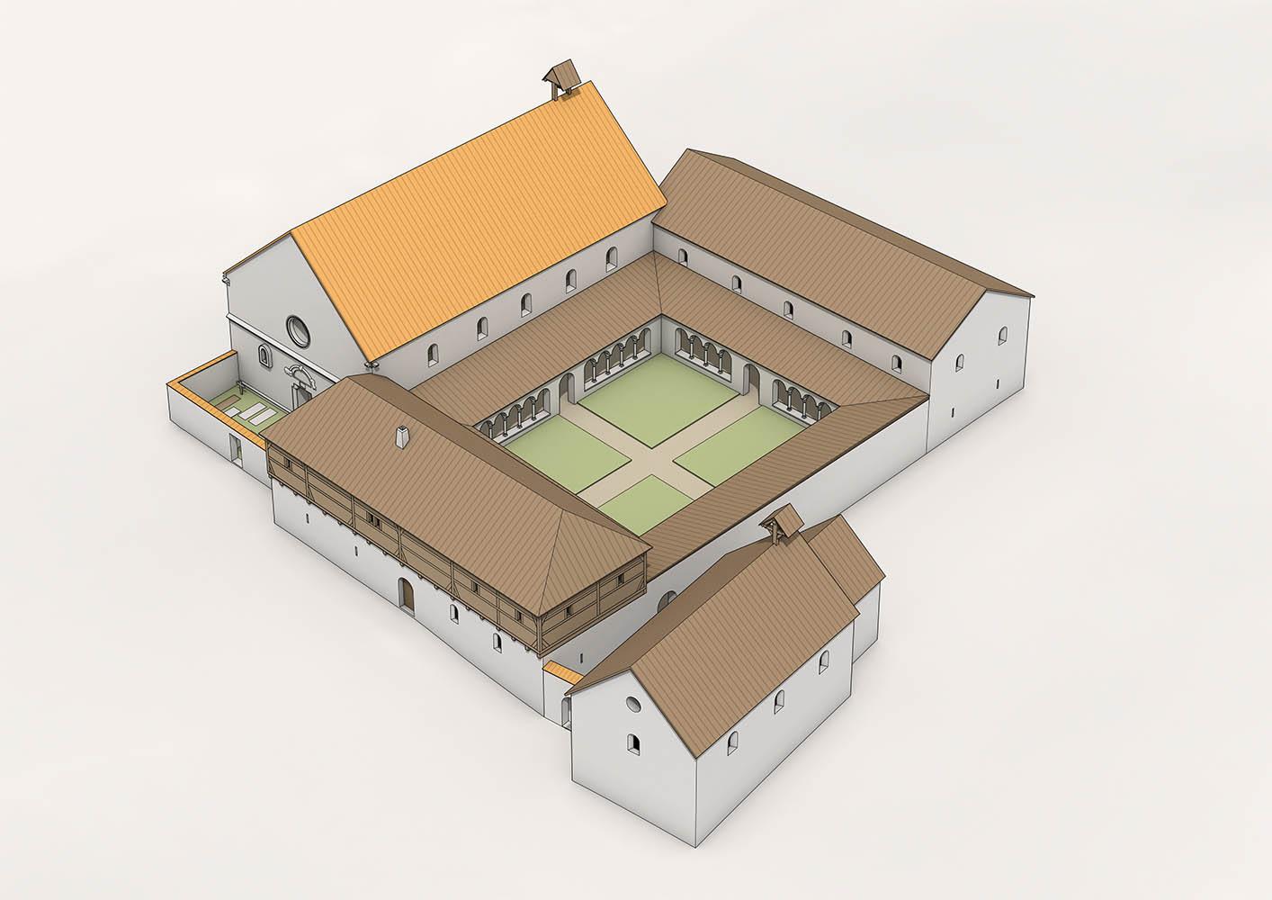 Kloster Schöntal nach dem Ausbau